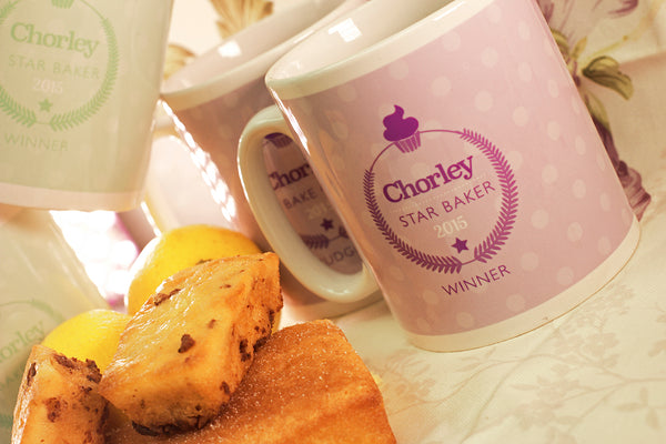 Printed Mugs - Chorley Village Bake Off Shropshire