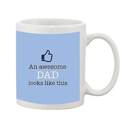 An Awesome Dad Looks Like This Mug - Promofix Gifts
