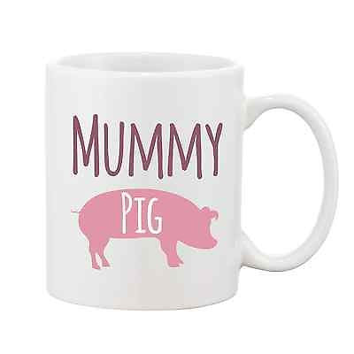 Mummy Pig Mug - Pig Gift, Mothers Day Gift, Promofix Gifts
