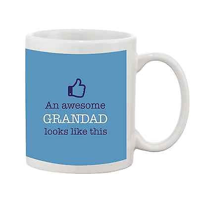 An Awesome Grandad Looks Like This Mug - Promofix Gifts