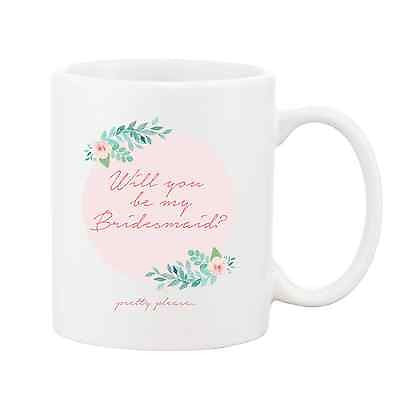 Will You Be My Bridesmaid Mug - Promofix Gifts