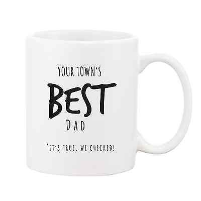Your Town's Best Dad Mug - Promofix Gifts