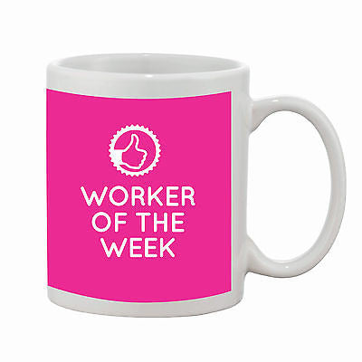 Worker of the Week Mug - Promofix Gifts