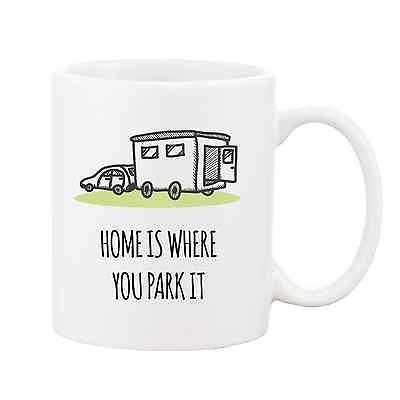 Home is Where You Park it Mug - Promofix Gifts