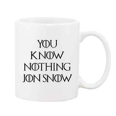 You Know Nothing Jon Snow Mug - Promofix Gifts