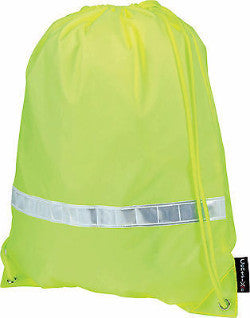High Visibility Reflective Drawstring Bag - Promofix Gifts