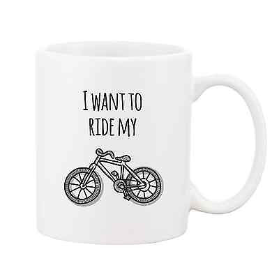 I Want to Ride My Bicycle Mug - Promofix Gifts