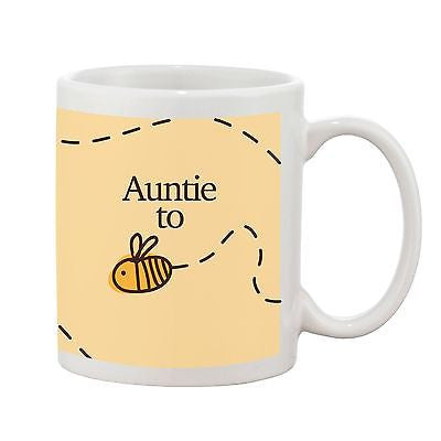 Auntie To Be Mug - Bumble Bee Range - Promofix Gifts