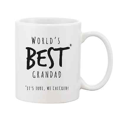 Worlds Best Grandad Mug - Promofix Gifts