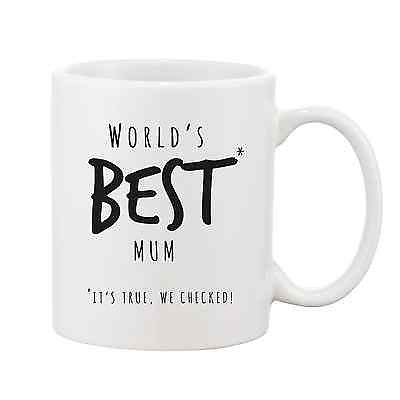 Worlds Best Mum Mug - Promofix Gifts