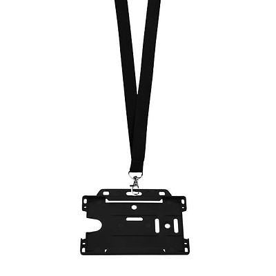 Lanyard & Plastic ID Badge Holder - Promofix Gifts   - 2