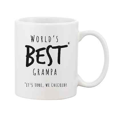 Worlds Best Grampa Mug - Promofix Gifts