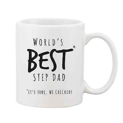 Worlds Best Step Dad Mug - Promofix Gifts