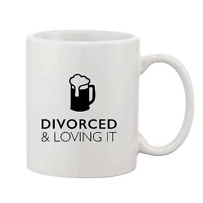 Divorced and Loving it Mug - Promofix Gifts