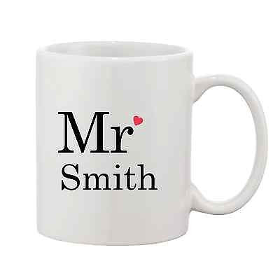 Personalised Mr Mug Wedding Mug - Promofix Gifts