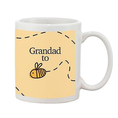 Grandad to be Mug - Bumble Bee Range - Promofix Gifts