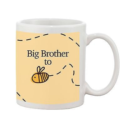 Big Brother To Be Mug - Bumble Bee Range - Promofix Gifts