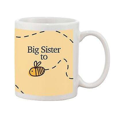 Big Sister To Be Mug - Bumble Bee Range - Promofix Gifts