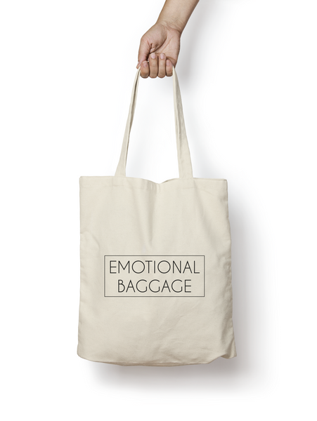 Emotional Baggage Cotton Tote Bag - Promofix Gifts