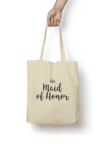 The Maid of Honor Cotton Tote Bag