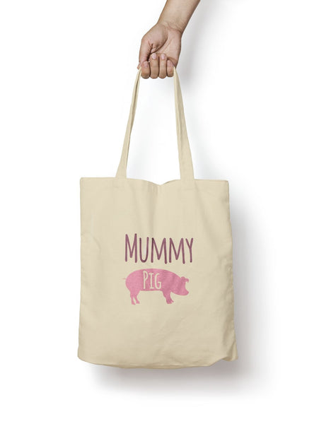 Mummy Pig Cotton Tote Bag - Promofix Gifts