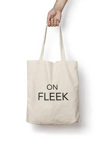 On Fleek Natural Cotton Tote Bag - Promofix Gifts