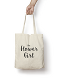 The Flower Girl Cotton Tote Bag - Promofix Gifts