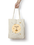 Auntie to be - Bumble Bee Cotton Tote Bag - Promofix Gifts   - 1