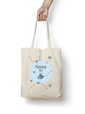 Nanny to be - Bumble Bee Cotton Tote Bag - Promofix Gifts   - 2