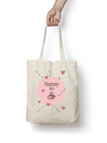 Nanny to be - Bumble Bee Cotton Tote Bag - Promofix Gifts   - 3