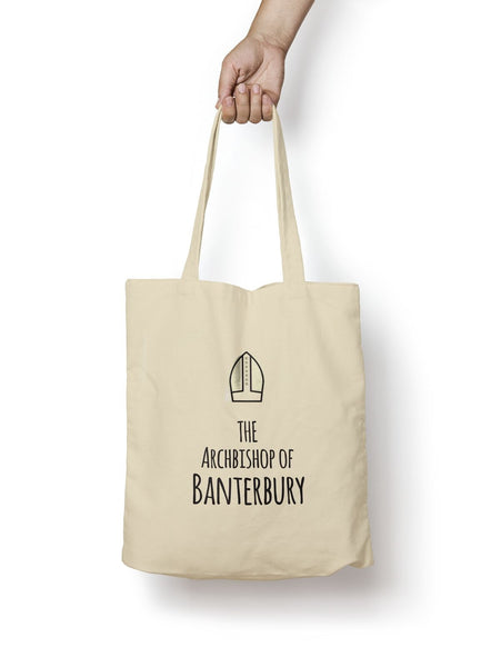 Archbishop of Banterbury Cotton Tote Bag - Promofix Gifts