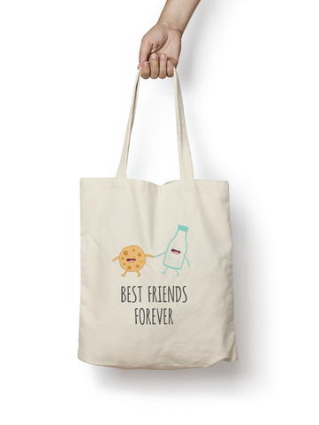 Best Friends Forever Cotton Tote Bag - Promofix Gifts