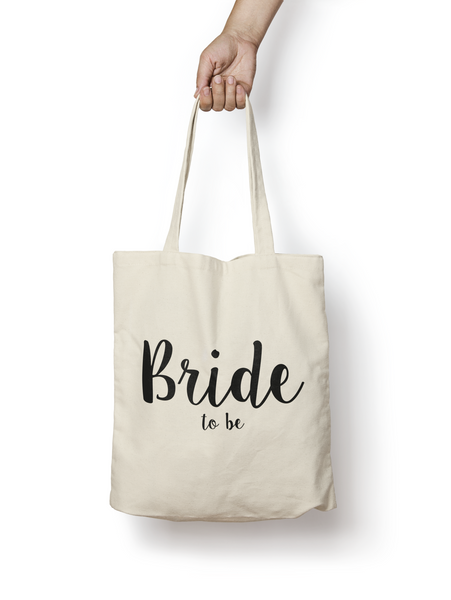 Bride to be Cotton Tote Bag - Promofix Gifts