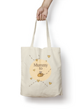 Mummy to be - Bumble Bee Cotton Tote Bag - Promofix Gifts   - 1