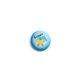 PACK OF 10 School Reward Button Badges 38mm