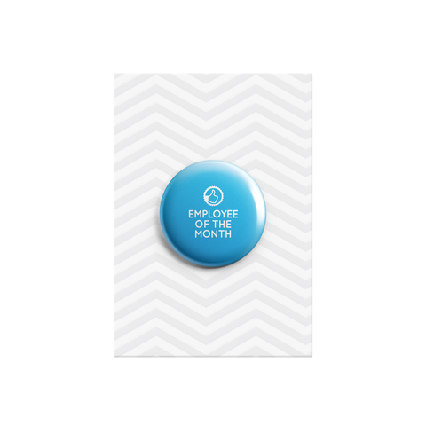 Employee of the Month Button Badge 38mm - Promofix Gifts   - 1