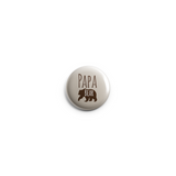 Papa Bear Button Badge 38mm - Promofix Gifts   - 2