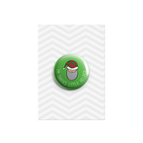 I'm Santas Little Helper Button Badge - Promofix Gifts   - 1