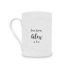 Personalised Best Grandad in the World China Mug