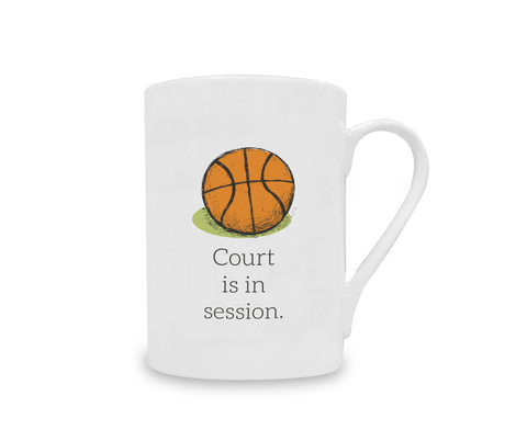 Court is in Session China Mug