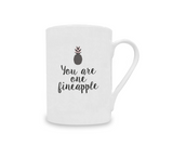 Fineapple China Mug - Promofix Gifts