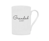 Grandad Est 2017 China Mug - Promofix Gifts