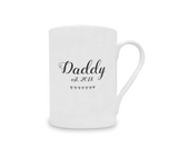 Daddy Est.2018 Vintage China Mug