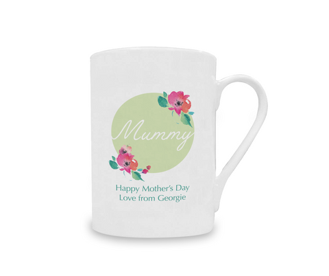 Personalised Happy Mothers Day China Mug