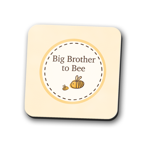 Big Brother to Bumble Bee Coaster