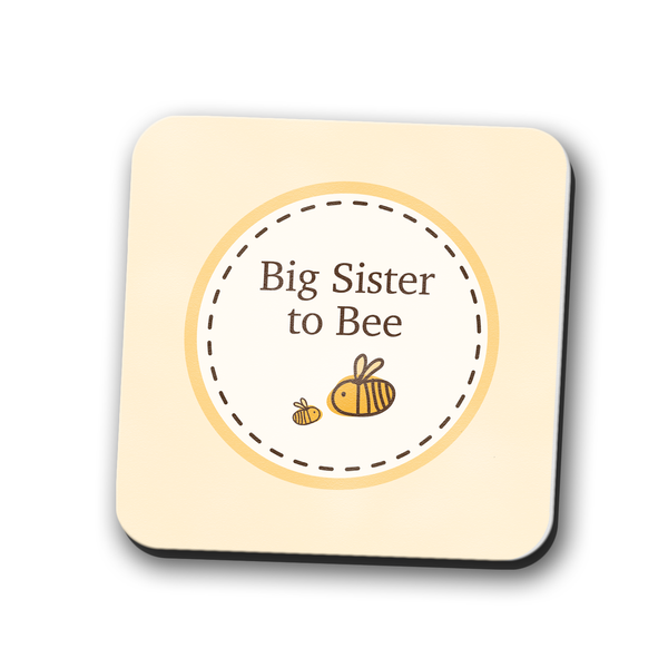 Big Sister to Bumble Bee Coaster