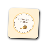 Grandpa to Bumble Bee Coaster