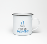 This Guy is Going to be a Big Brother Enamel Mug - Promofix Gifts