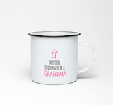 This Girl is Going to be a Grandma Enamel Mug - Promofix Gifts