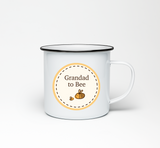 Grandad to Bumble Bee Enamel Mug